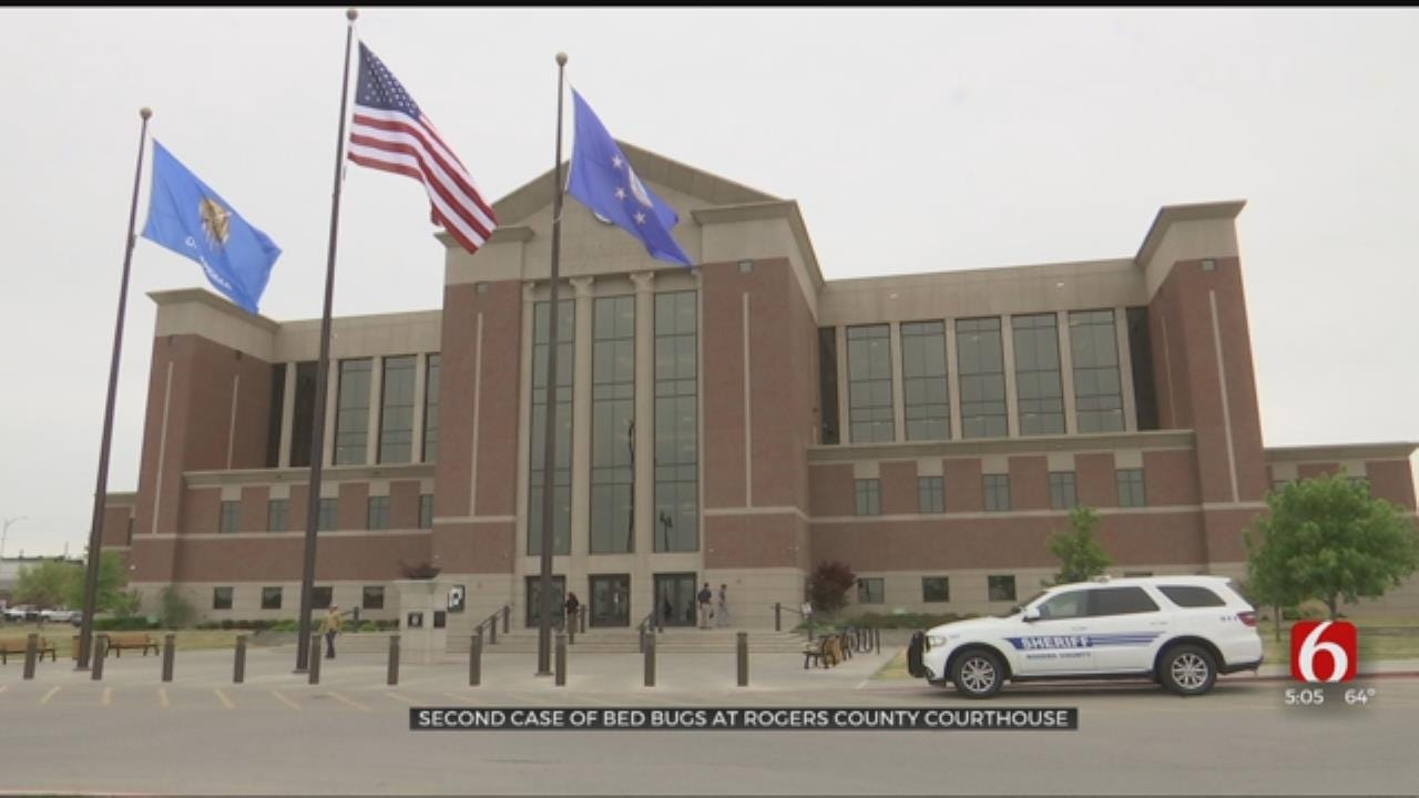 Rogers County Courthouse Attacks Bed Bug Problem With New Tactic