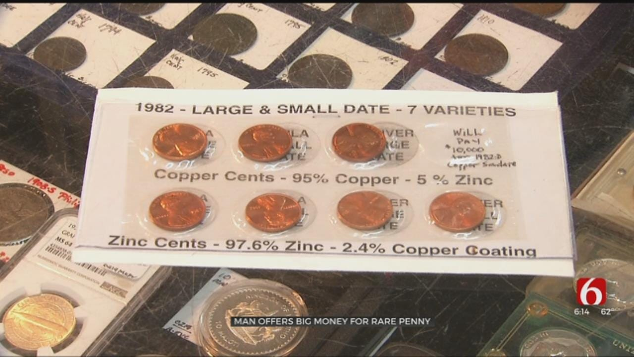 Claremore Collector Offers $10,000 For Rare Penny