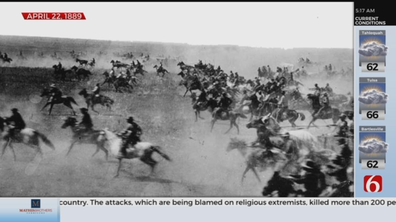 April 22nd: 130th Oklahoma Land Rush Anniversary