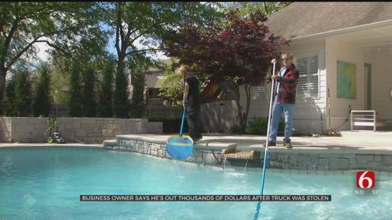 Tulsa Business Suffers Major Setback After Pool Equipment Stolen