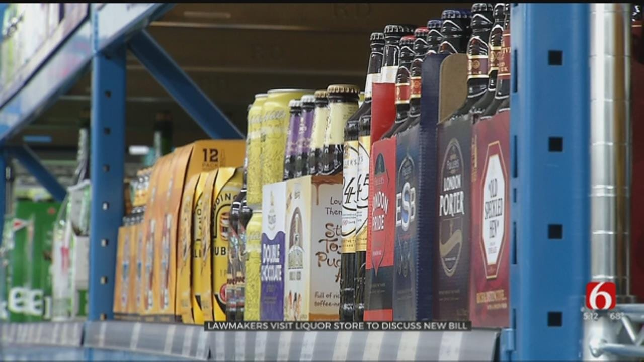 Lawmakers Visiting Stores To Discuss Oklahoma New Liquor Laws