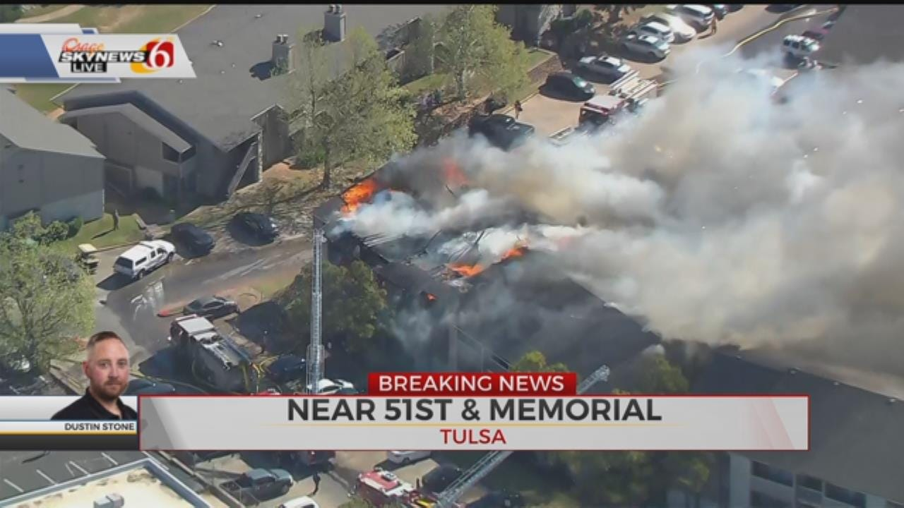 Apartment Fire Near 51st and Memorial
