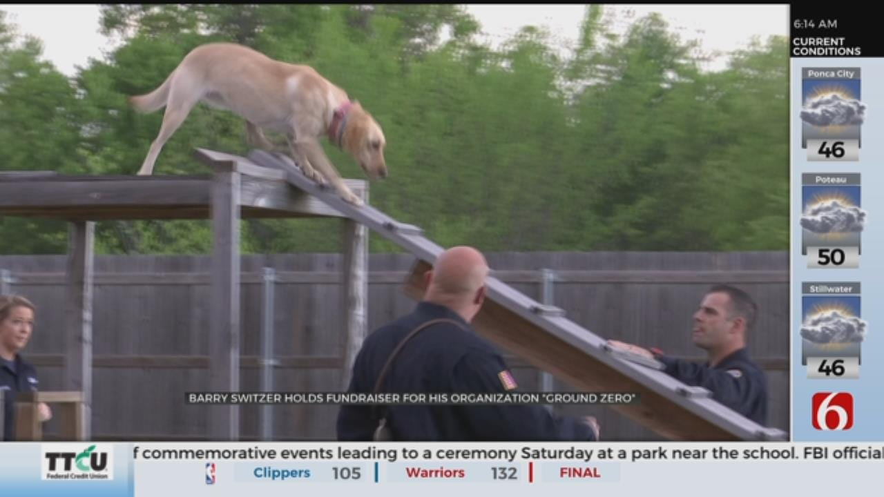 Oklahoma Search An Rescue Dog Organization Holds Fund Raiser