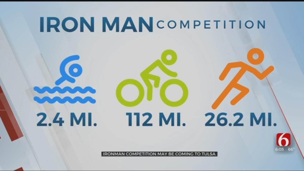 Tulsa Named Among Finalists to Host Iron Man Competition