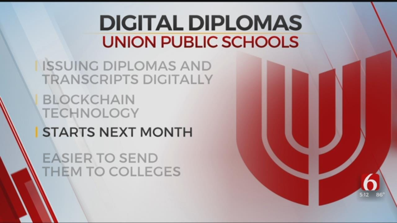 Union High School To Be First In The Nation To Offer Digital Diplomas