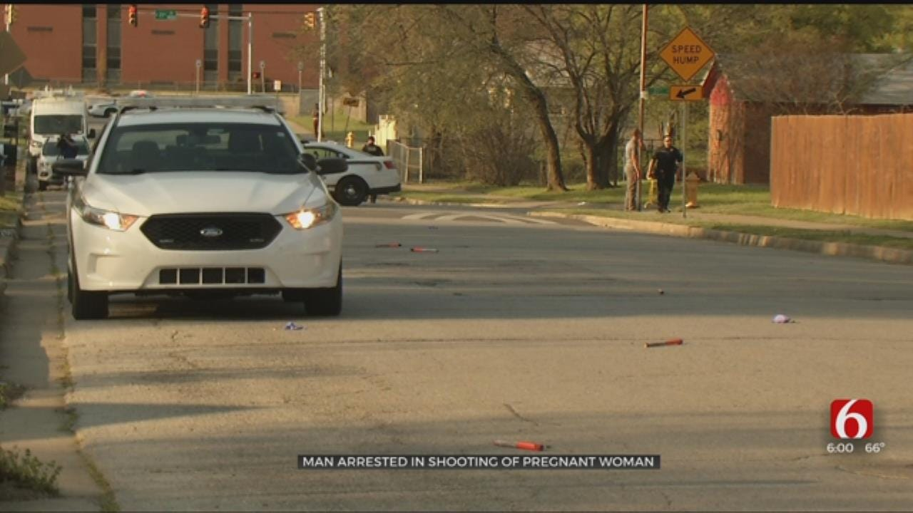 Suspect Arrested In Shooting Of Pregnant Woman