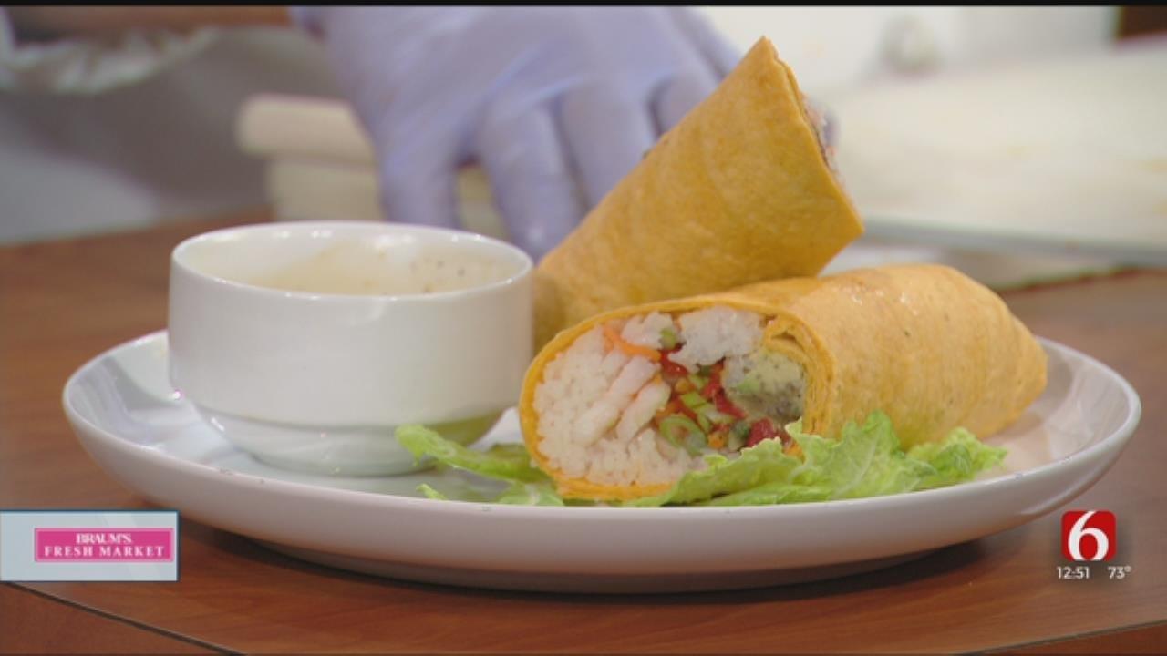 Sushi Shrimp Burrito