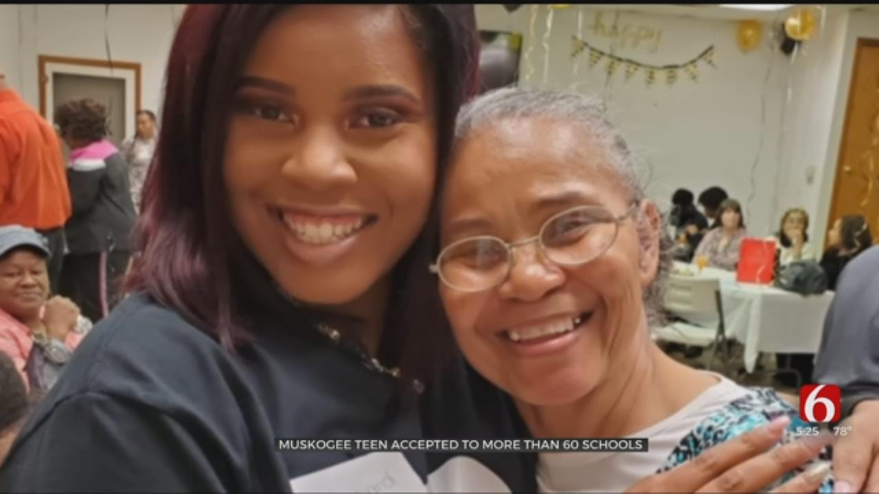 Muskogee Teen Accepted Into Over 60 Schools