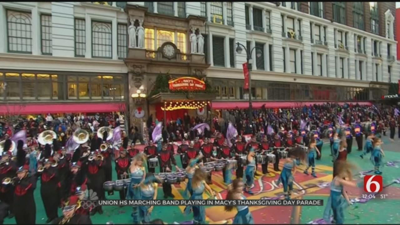 Union High School Marching Band Going To 2020 Macy's Thanksgiving Day Parade