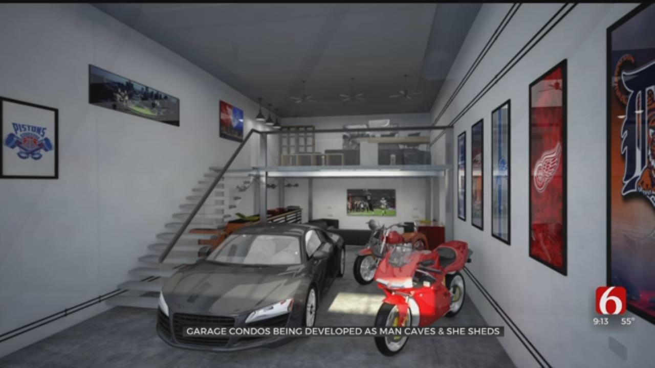 Garage Condos Coming to South Tulsa