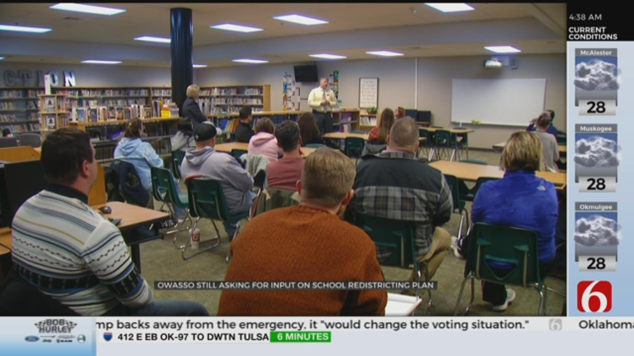 Owasso School District Shares Redistricting Plan
