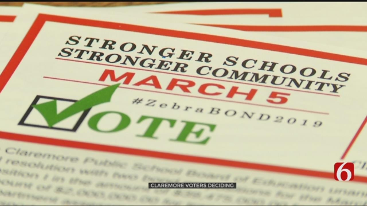 First School Bond Issues In 11 Years Go Before Claremore Voters