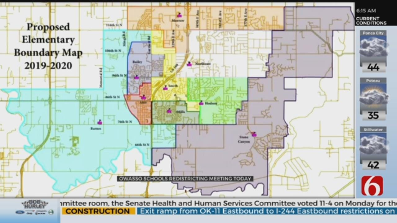 Owasso Plans Redistricting For Elementary Schools