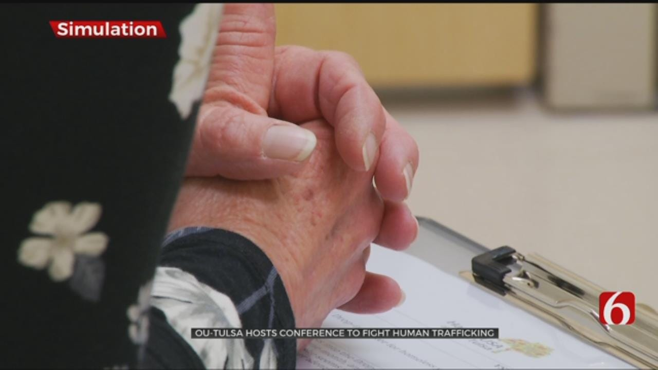 Human Trafficking Conference Provides Simulations That Could Help Victims
