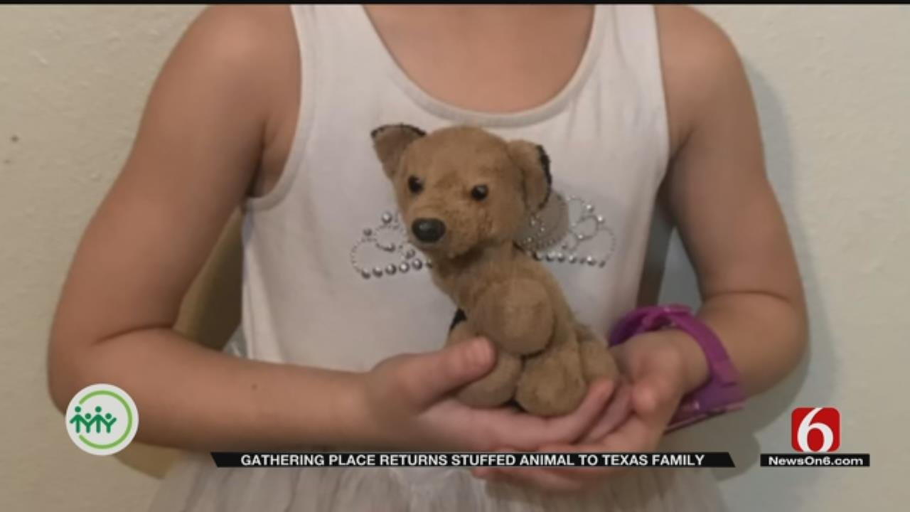 Tulsa's Gathering Place Returns Lost Stuffed Animal In Most Special Way