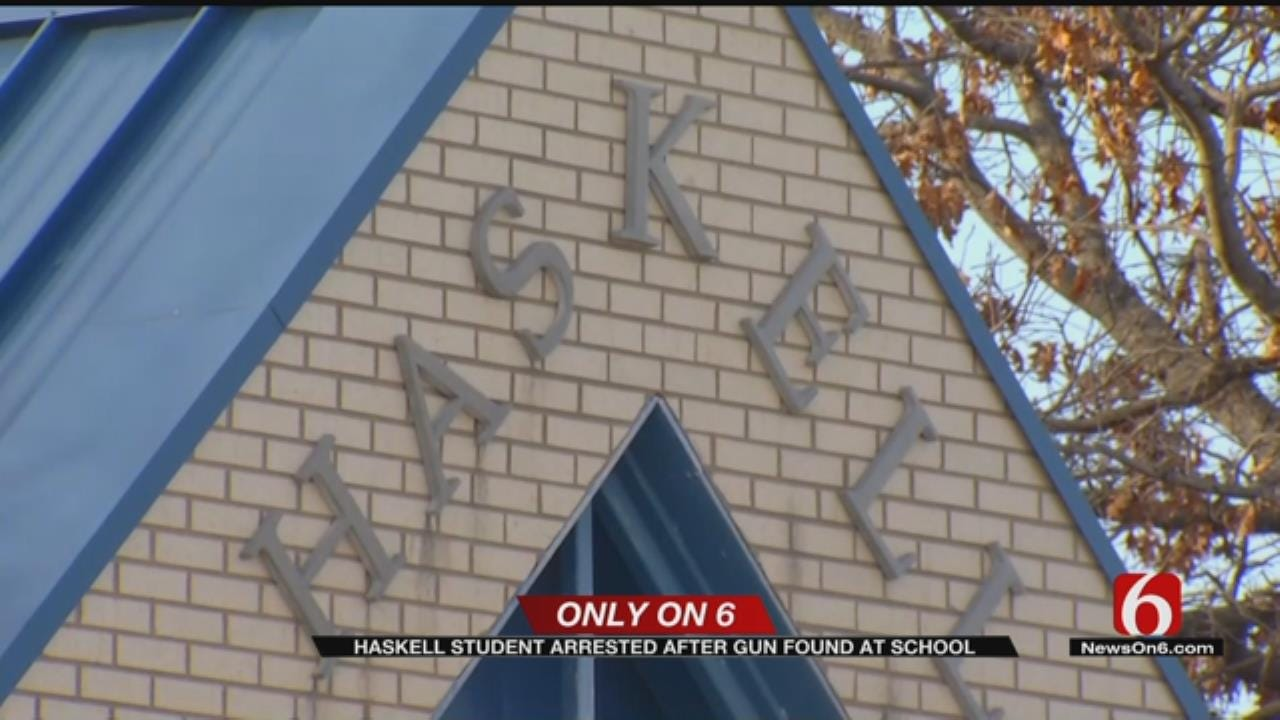 Haskell Police Arrest Student For Taking Gun To High School