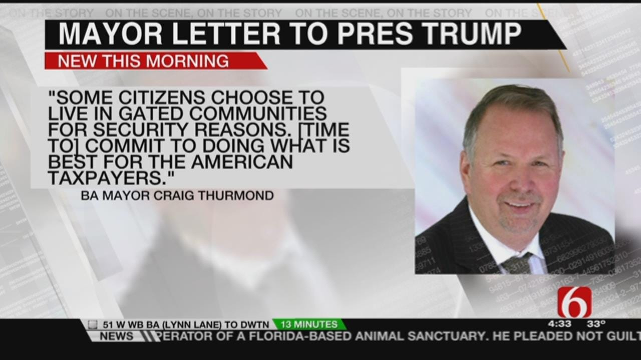 BA Mayor Expresses Support For President Trump's Border Wall