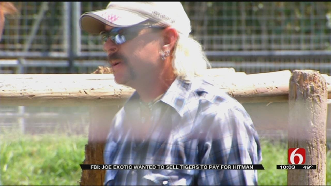 Feds: Ex-Zookeeper Offered Cash From Tiger Sales For Hit