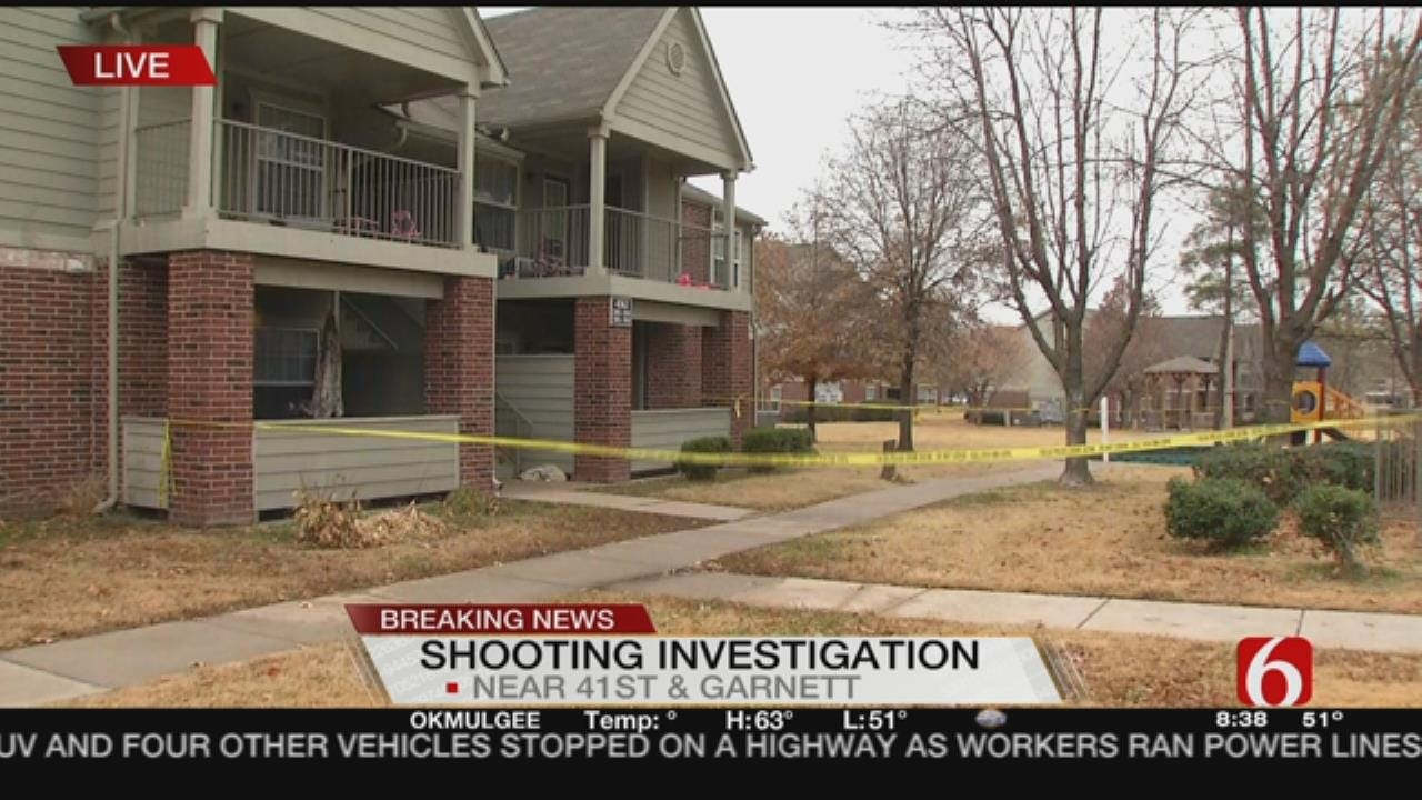 Police Investigating Shooting At Tulsa Apartment Complex
