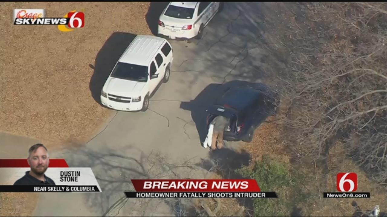 Tulsa Homeowner Fatally Shoots Intruder