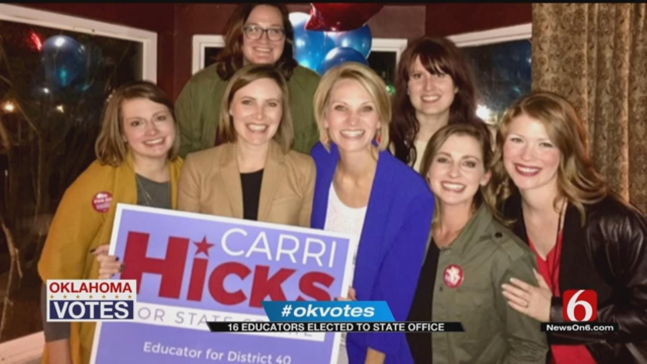 Oklahoma Educators Take Home Wins In Midterm Election