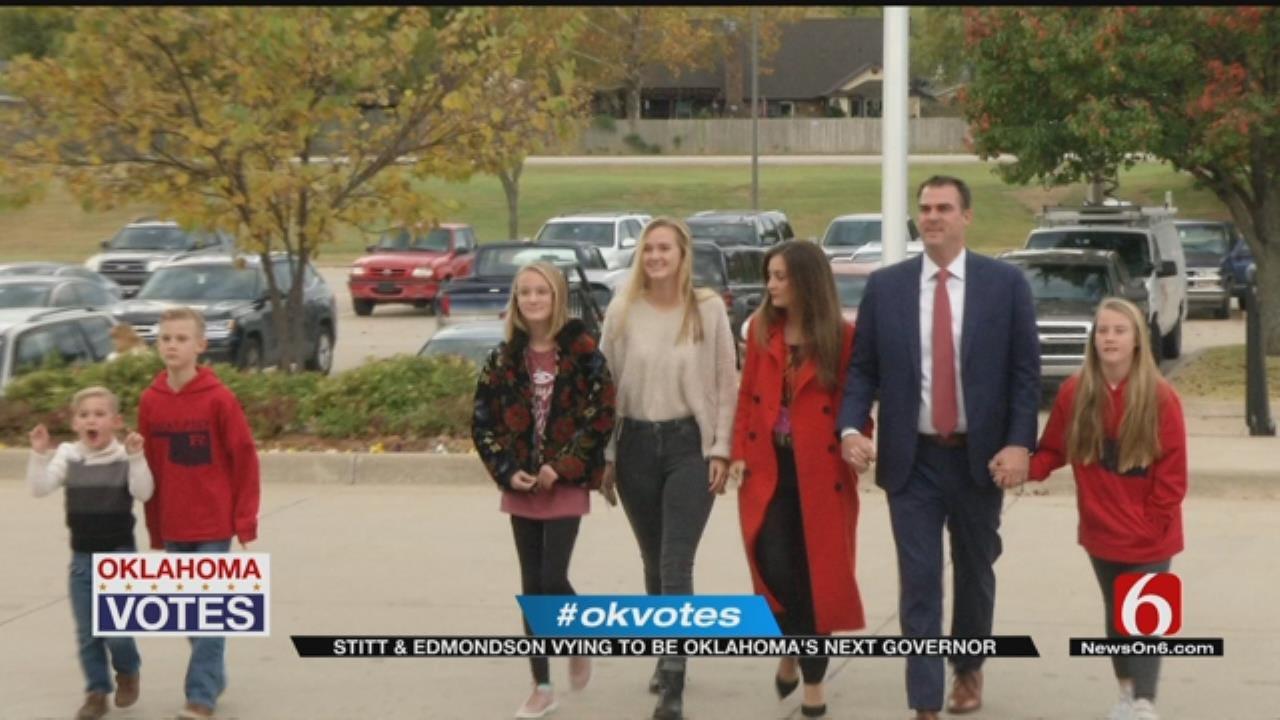 Edmondson, Stitt Head Into Final Stretch For Oklahoma Governor's Office
