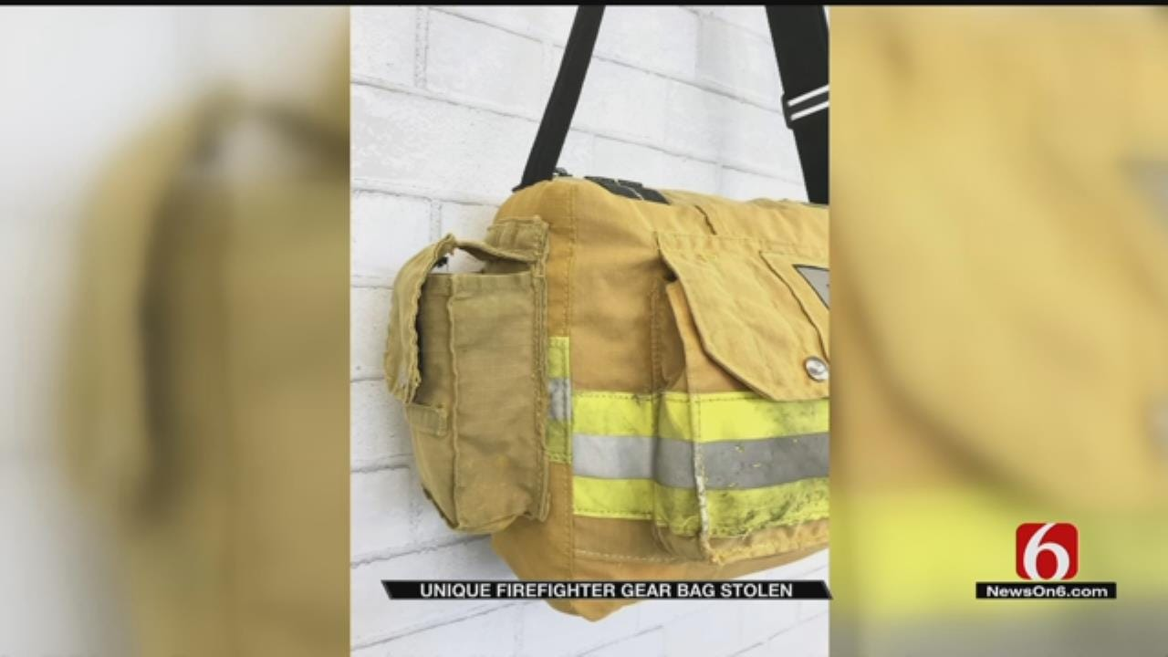 Sand Springs Fire Fighter Loses Important Bag To Thief