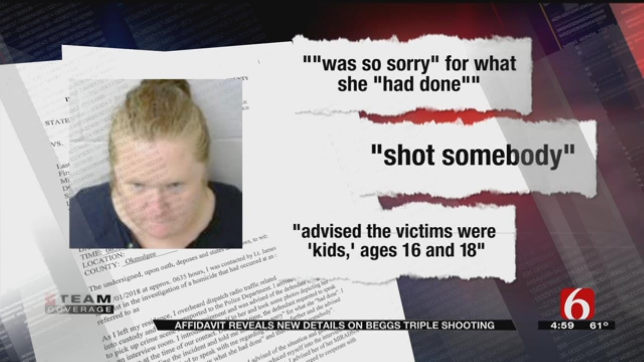 Affidavit: Beggs Mother Admitted To Shooting Her 3 Children