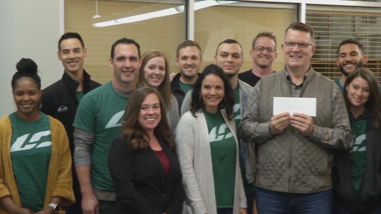WEB EXTRA: Oklahoma Church Makes Major Donation To John 3:16 Mission