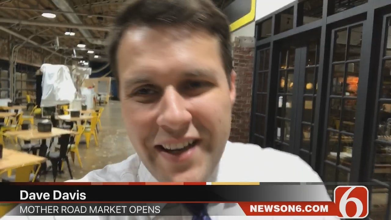 Dave Davis Looks Inside Tulsa's Mother Road Market Ahead Of Opening Today