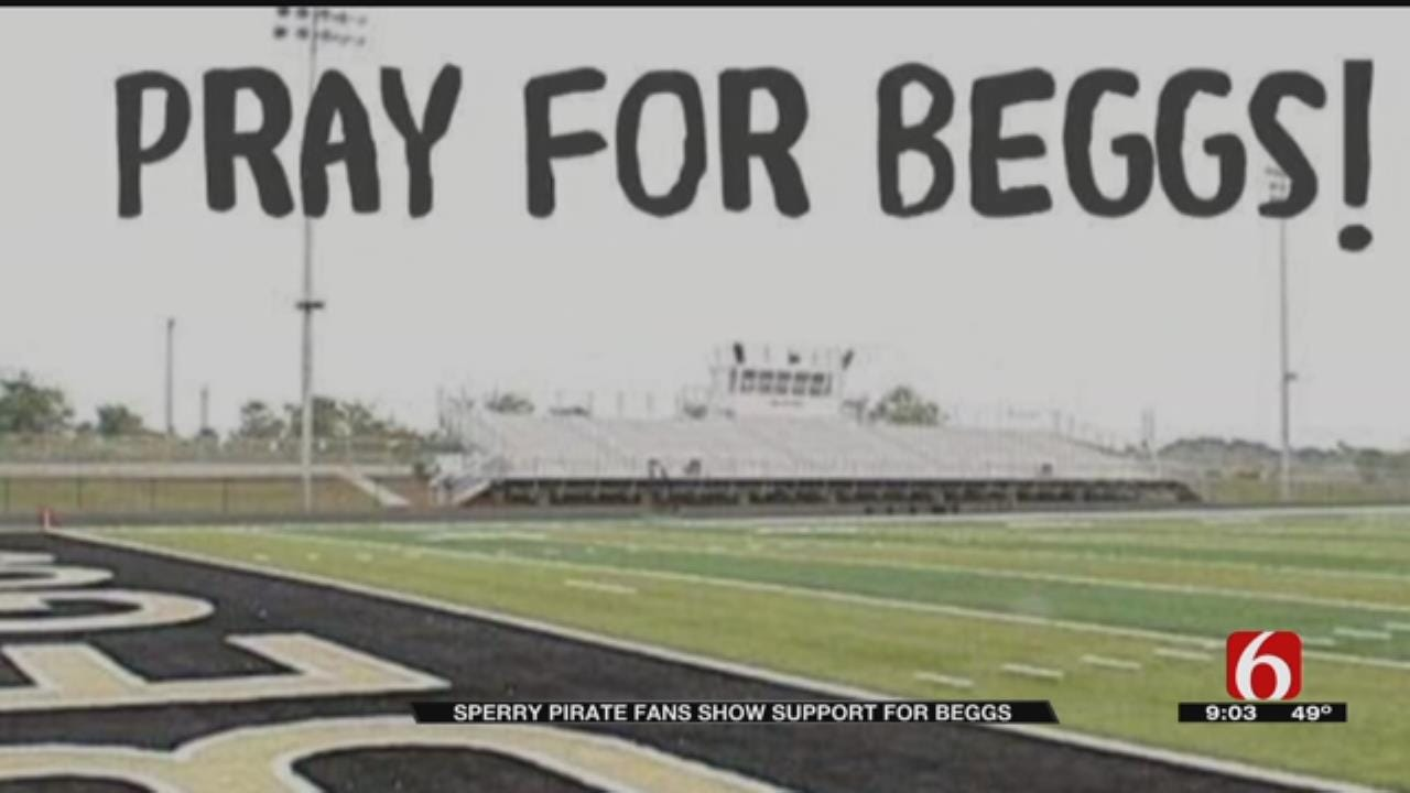 Sperry-Beggs Football Game Will Be Played, In Spite Of Tragedy