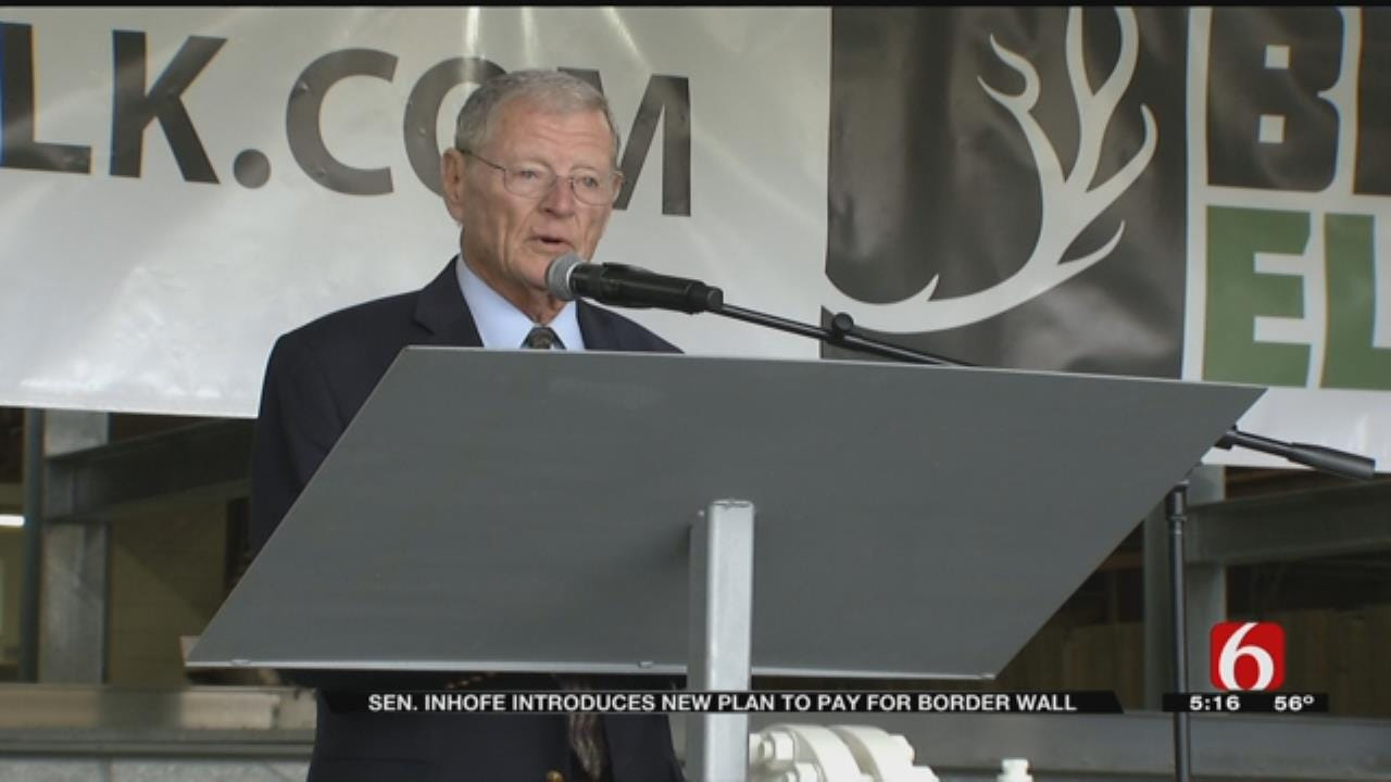 Oklahoma's Inhofe Announces Plan For Funding U.S.-Mexico Border Wall