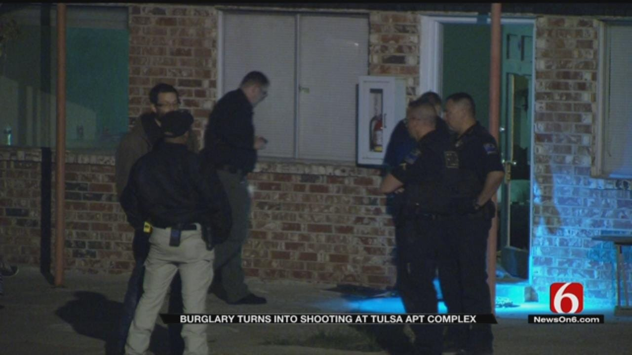 Man Critical After He Is Shot During Tulsa Burglary, Drug Deal