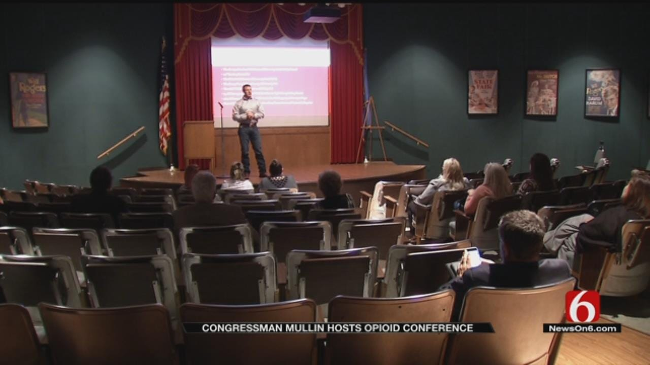 Congressman Mullin Celebrates Signing Of Federal Opioid Bill