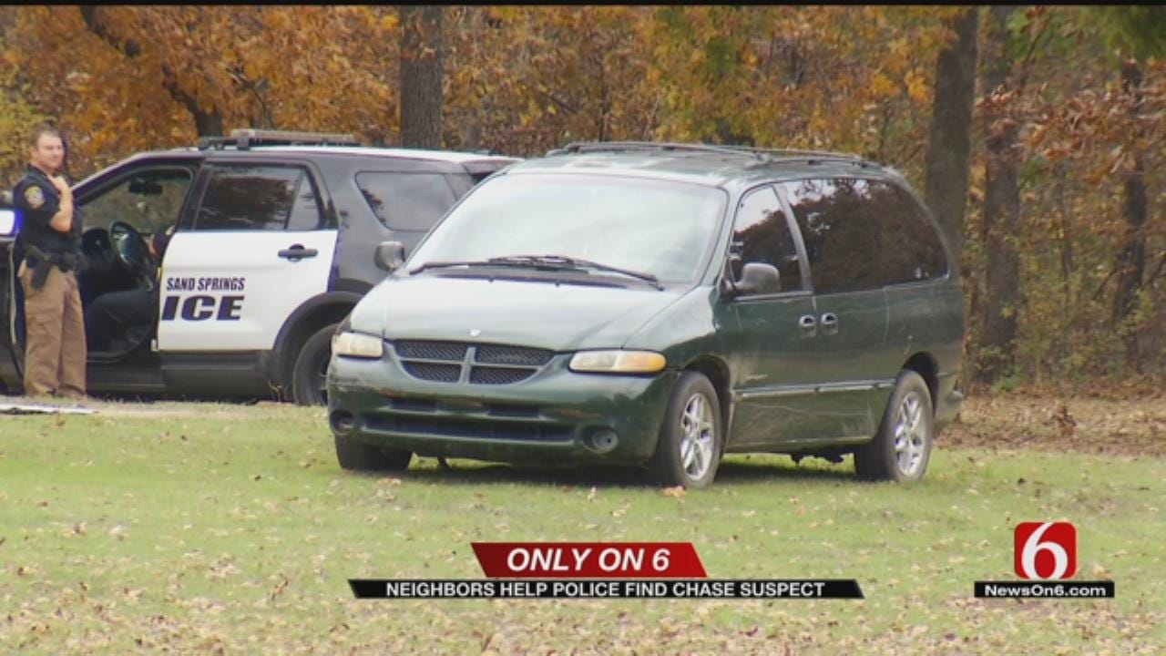 Suspect Arrested After Sand Springs Police Chase