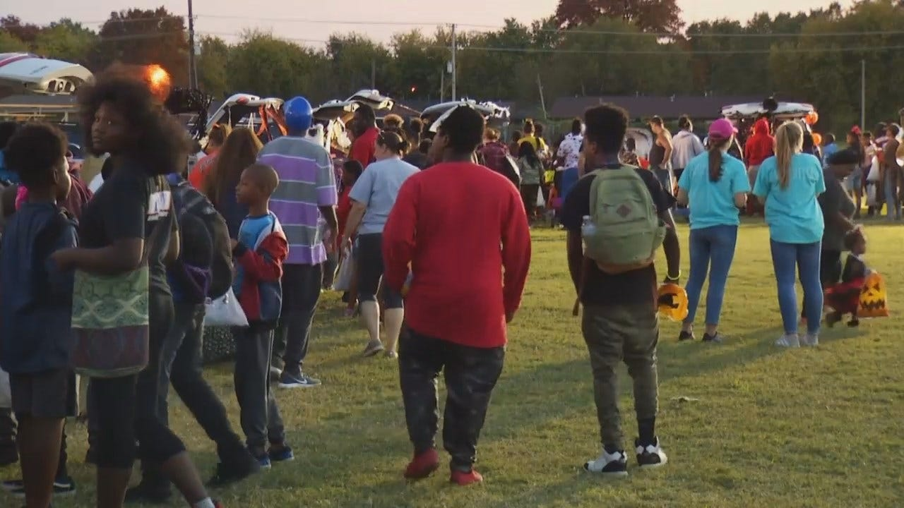 WEB EXTRA: Tulsa Metro Christian Academy Holds Block Party For Neighborhood