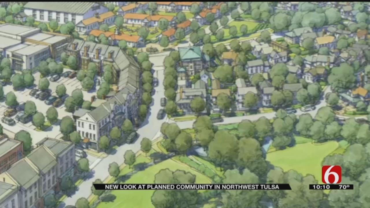 Developer Working On Plans For Tulsa Neighborhood Unlike Any Other