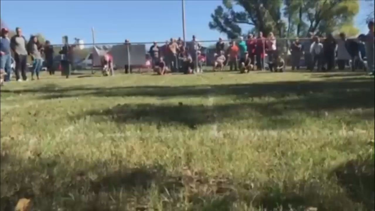 WEB EXTRA: Video From 2nd Annual Schnitzel Stampede In Muskogee