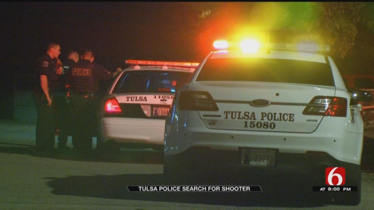 Tulsa Police Searching For Suspects In Apartment Shooting