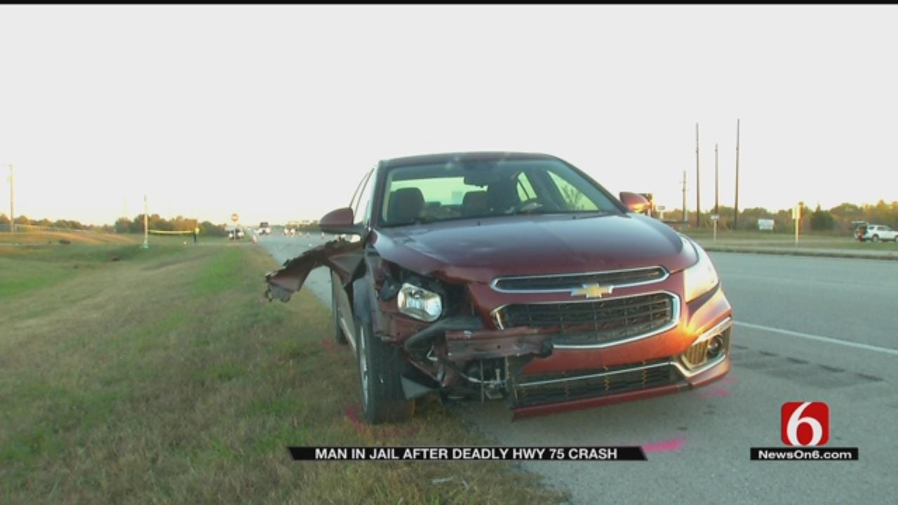 OHP: Suspect In Custody After Fleeing Fatal Wreck On Highway 75