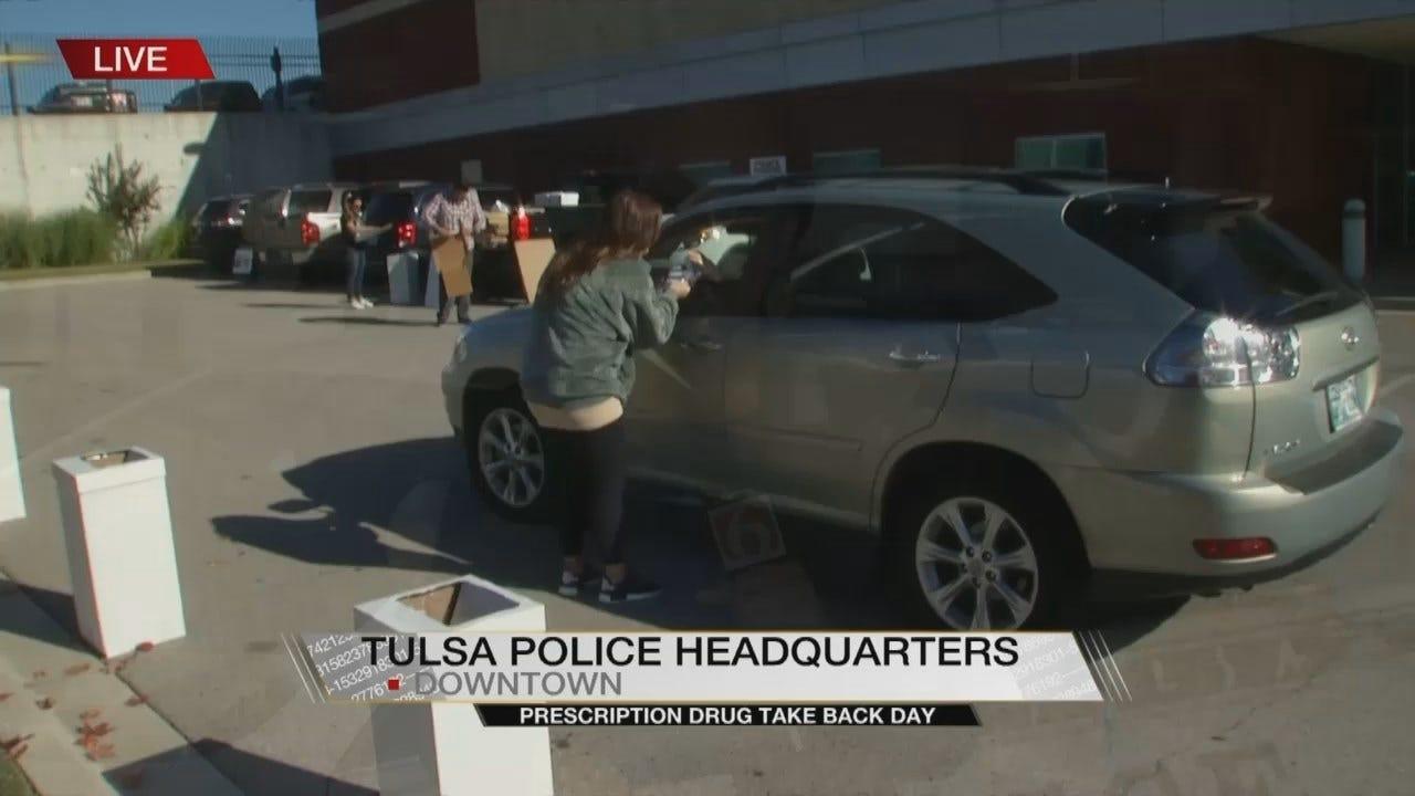 Tulsans Participate In National Prescription Drug Take-Back Day
