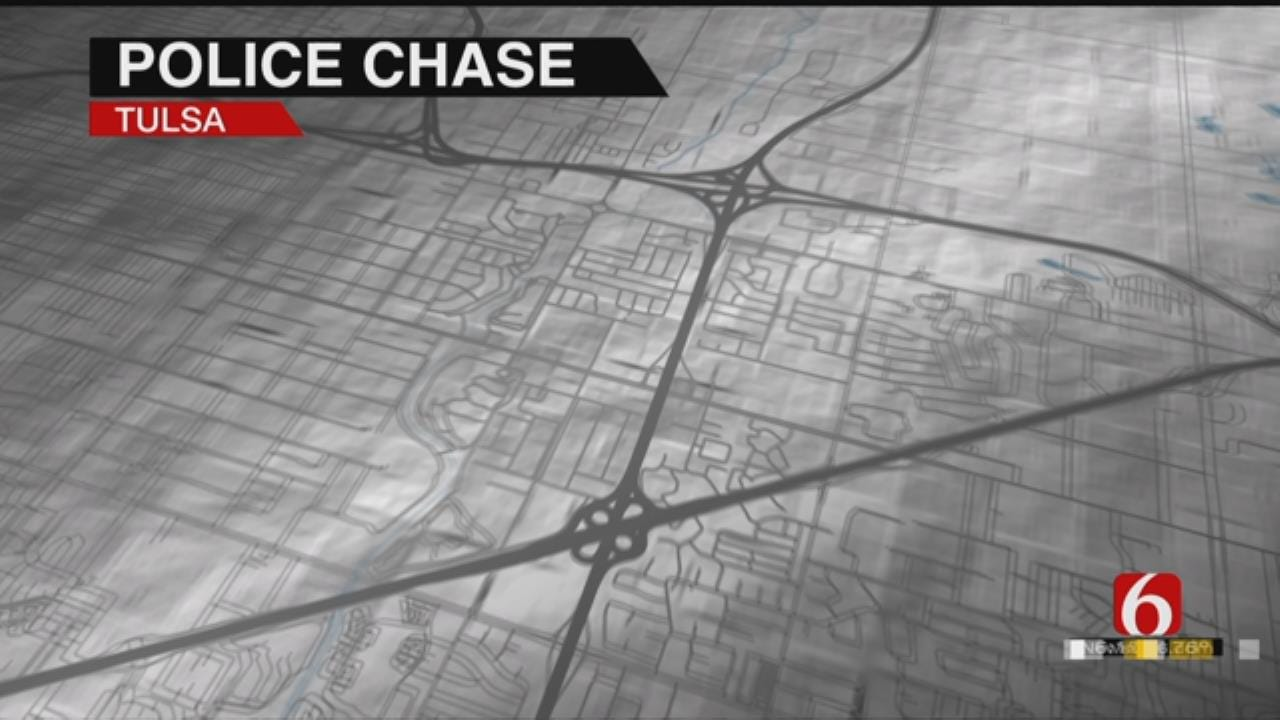 Tulsa Police Arrest Wanted Man After Chase