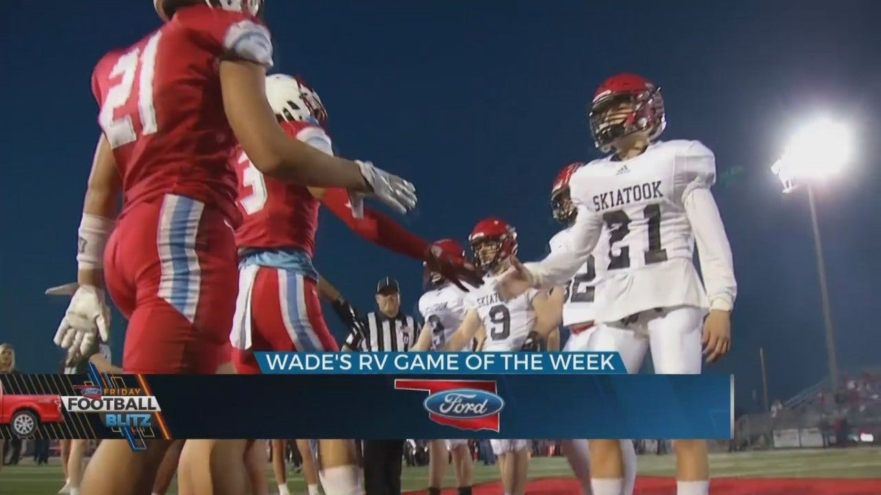 Wades RV Game Of The Week: Collinsville Defeats Skiatook 17-3