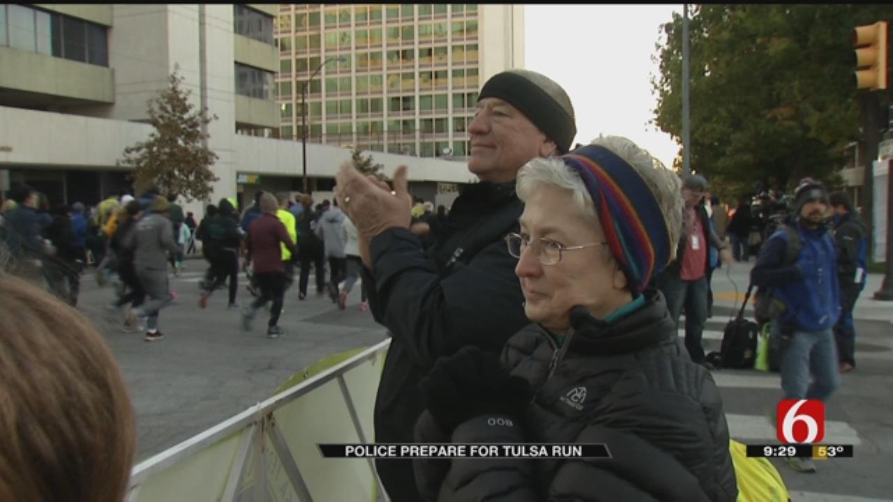 Law Enforcement And Medical Teams Preparing For Tulsa Run