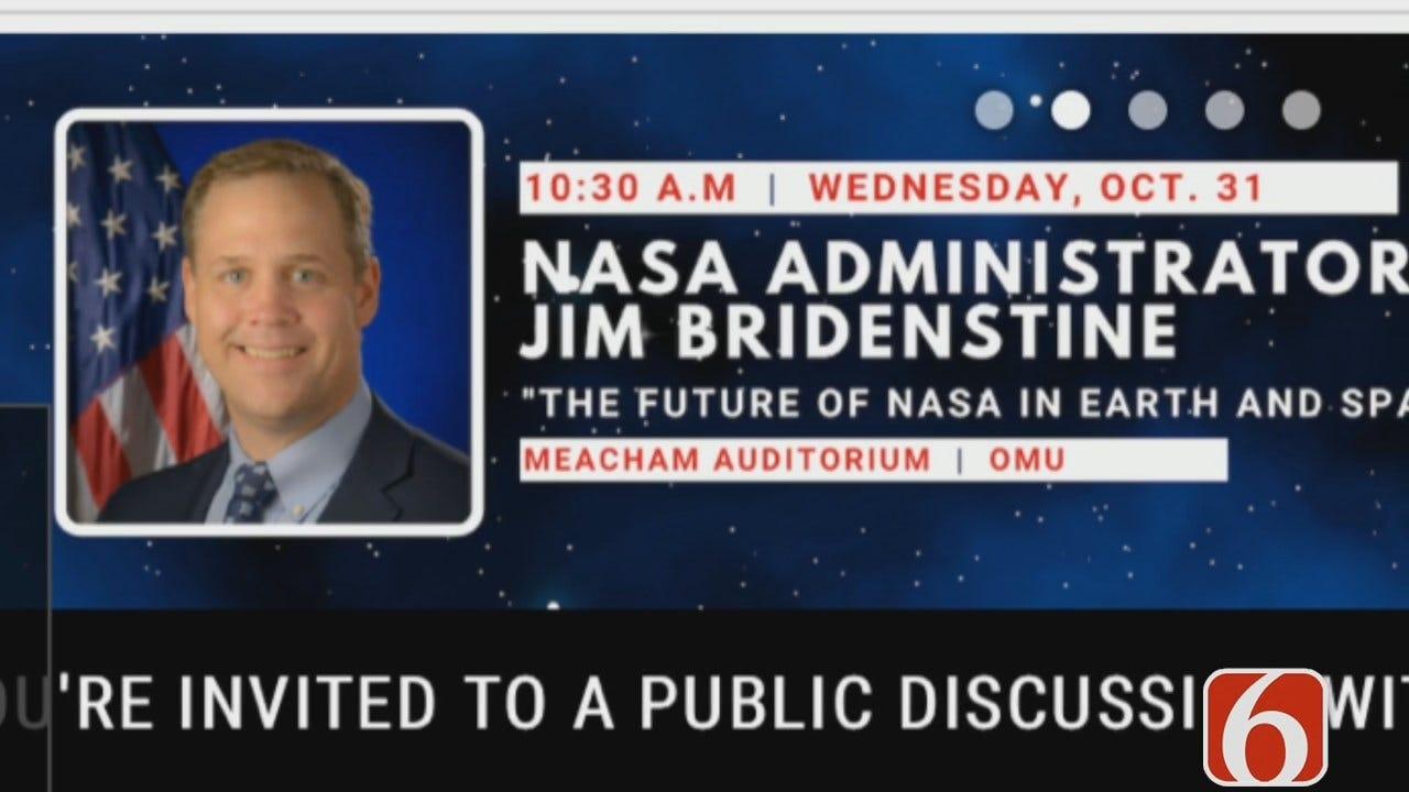 Dave Davis: Bridenstine To Speak On NASA's Future