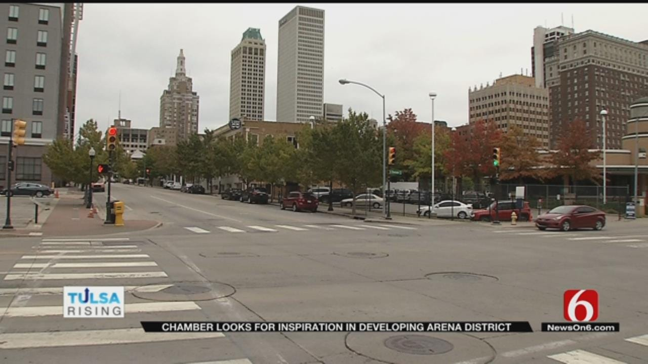 Plans In The Works To Improve Tulsa's 'Arena District'
