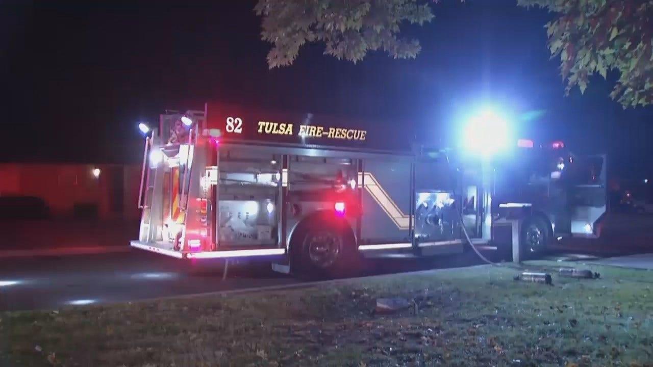 WEB EXTRA: Video From Scene Of Tulsa Duplex Fire