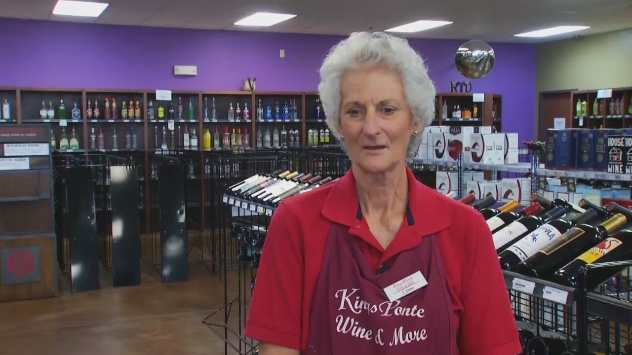 WEB EXTRA: Tulsa Wine Store Blames State's New Alcohol Laws For Closing Their Business