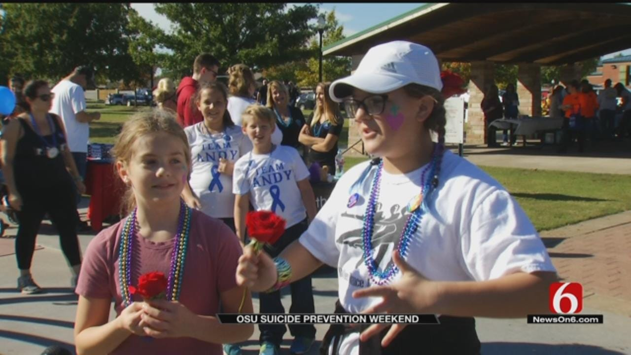 """""""Out Of Darkness Walk"""" Raises Awareness For Suicide Prevention"""