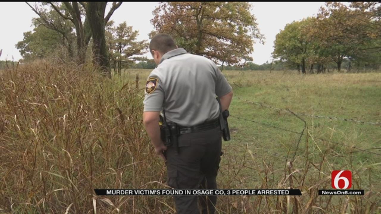 Three Accused Of Murdering Man In Osage County